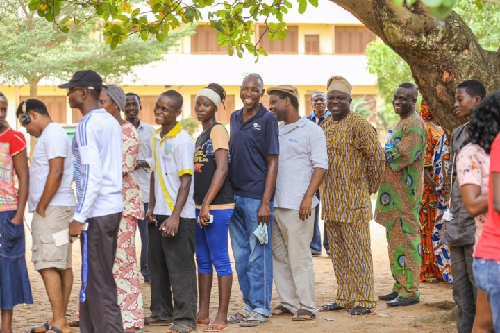 Akinwunmi-Ambode-Arrives-Polling-Booth-for-Accreditation